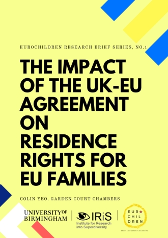 The impact of the UK-EU agreement on residence rights for EU families PAGE 1